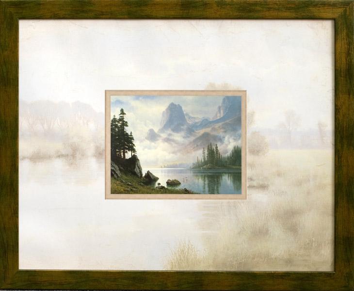 Гора крізь туман